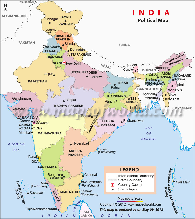 India 2 kolkata to dimapur and kohima nagaland east india india political map gumiabroncs Images